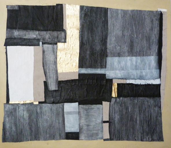 Urban landscape-panorama-Int, 65x76inch, mixed media n canvas, 2012, NY