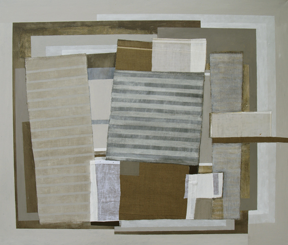 Compilation, 150x180cm, mixed media on canvas